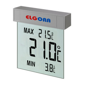 VISION Digitales Fensterthermometer